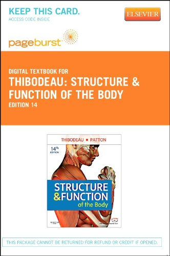 9780323095709: Structure & Function of the Body - Elsevier eBook on VitalSource (Retail Access Card), 14e