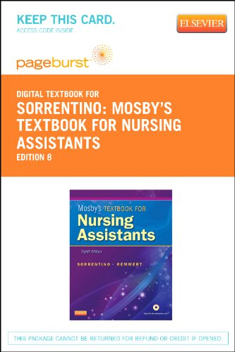 9780323096508: Mosby's Textbook for Nursing Assistants - Elsevier eBook on VitalSource (Retail Access Card)