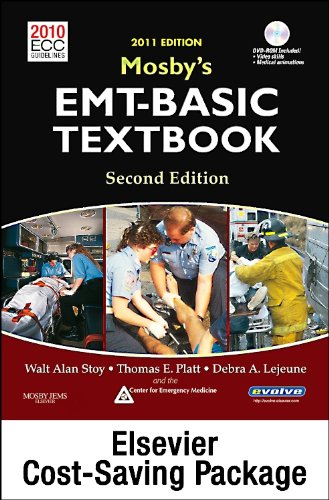 Mosby's EMT-Basic Textbook (Revised Reprint, 2011 Update) - Text and Workbook Package, 2e: Walt...