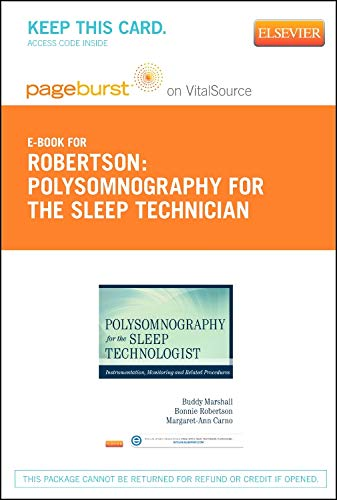 9780323100229: Polysomnography for Sleep Technologists- Elsevier eBook on VitalSource (Retail Access Card): Instrumentation, Monitoring, and Related Procedures, 1e