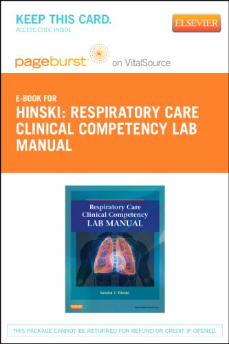 Respiratory Care Clinical Lab Competency Manual Access Card: Hinski, Sandra T.