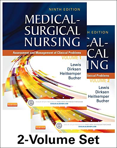 9780323100892: Medical-Surgical Nursing - 2-Volume Set: Assessment and Management of Clinical Problems, 9e (Medical- Surgical Nursing (Lewis) 2 Vol Set)