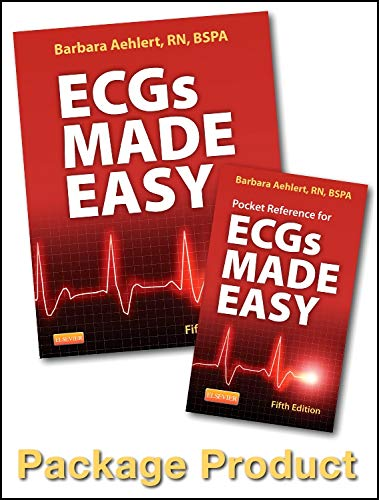 9780323101066: ECGs Made Easy - Book and Pocket Reference Package, 5e