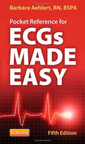 9780323101080: Pocket Reference for ECGs Made Easy, 5e