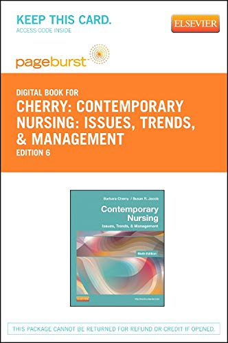 9780323101103: Contemporary Nursing - Elsevier eBook on VitalSource (Retail Access Card): Issues, Trends, & Management