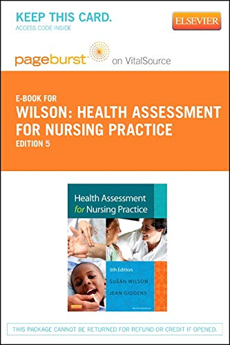 9780323101349: Health Assessment for Nursing Practice - Elsevier eBook on VitalSource (Retail Access Card), 5e