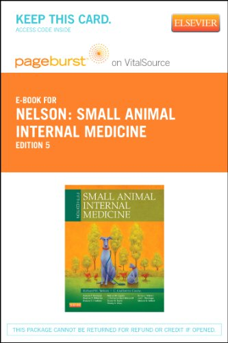 9780323101677: Small Animal Internal Medicine Pageburst on VitalSource Access Code