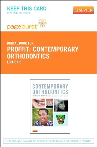 9780323101912: Contemporary Orthodontics - Elsevier eBook on VitalSource (Retail Access Card), 5e