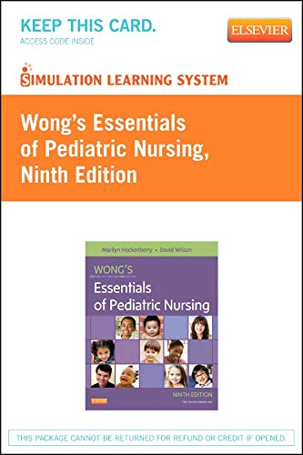 9780323101950: Simulation Learning System for Hockenberry: Wong's Essentials of Pediatric Nursing (Retail Access Card), 9e