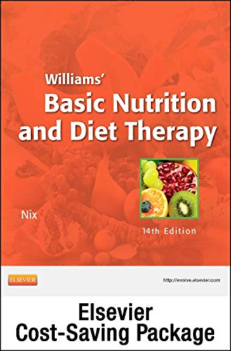 9780323112123: Nutrition Concepts Online for Williams' Basic Nutrition and Diet Therapy (Access Code and Textbook Package), 14e