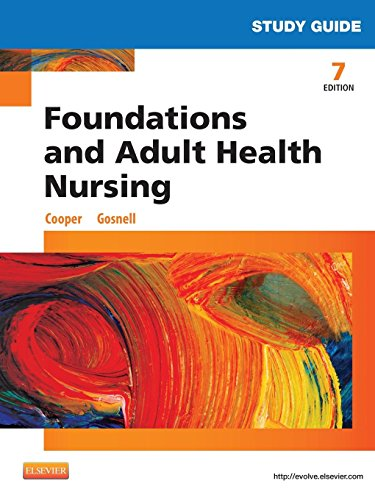 9780323112192: Study Guide for Foundations and Adult Health Nursing, 7e
