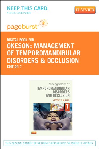 9780323112895: Management of Temporomandibular Disorders and Occlusion - Elsevier eBook on VitalSource (Retail Access Card), 7e