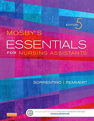 9780323113175: Mosby's Essentials for Nursing Assistants, 5e