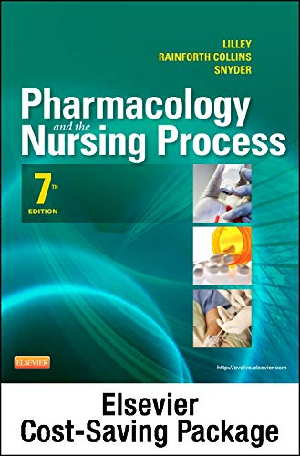 9780323113410: Pharmacology and the Nursing Process - Study Guide Package, 7e