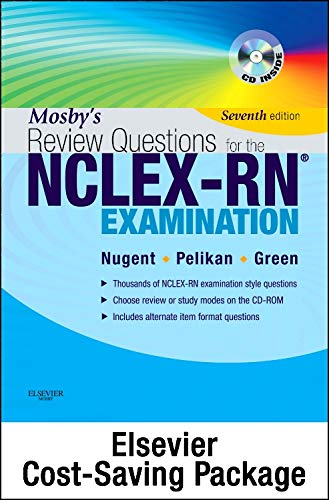 9780323113885: Mosby's Review Questions for the NCLEX-RN Exam - Elsevier eBook on VitalSource + Evolve Access (Retail Access Cards), 7e