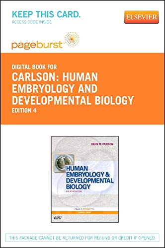 9780323113960: Human Embryology and Developmental Biology - Elsevier eBook on VitalSource (Retail Access Card), 4e