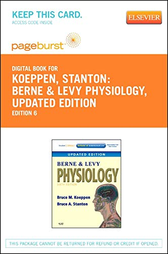 9780323137409: Berne & Levy Physiology, Updated Edition - Elsevier eBook on VitalSource (Retail Access Card)