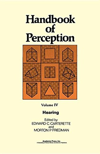 9780323142755: Hearing (Handbook of Perception)