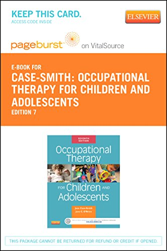 Occupational Therapy for Children Pageburst on VitalSource Access Code: Case-Smith, Jane; O'brien, ...