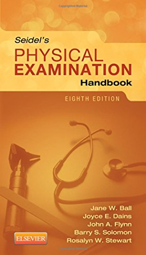 9780323169530: Seidel's Physical Examination Handbook, 8e (Mosbys Physical Examination Handbook)