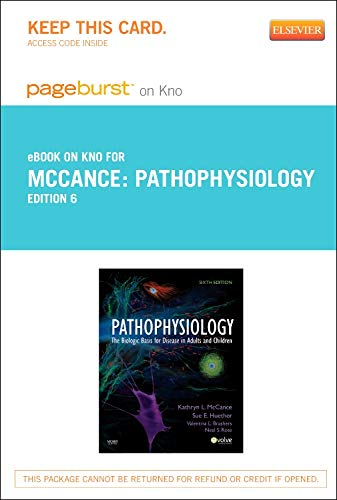 9780323169660: Pathophysiology - Elsevier eBook on Intel Education Study (Retail Access Card): The Biologic Basis for Disease in Adults and Children, 6e