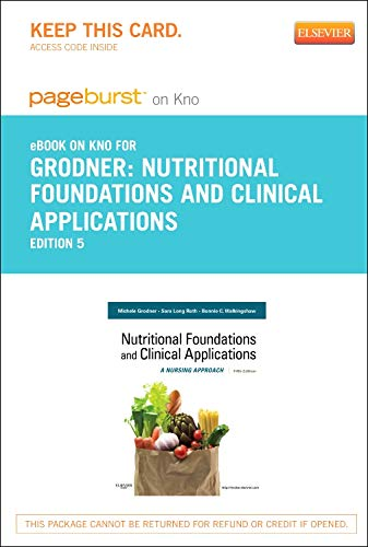 9780323170314: Nutritional Foundations and Clinical Applications - Elsevier eBook on Intel Education Study (Retail Access Card): A Nursing Approach, 5e
