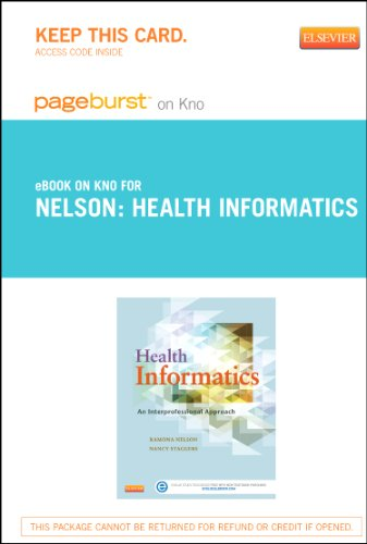 9780323171793: Health Informatics - Elsevier eBook on Intel Education Study (Retail Access Card): An Interprofessional Approach, 1e
