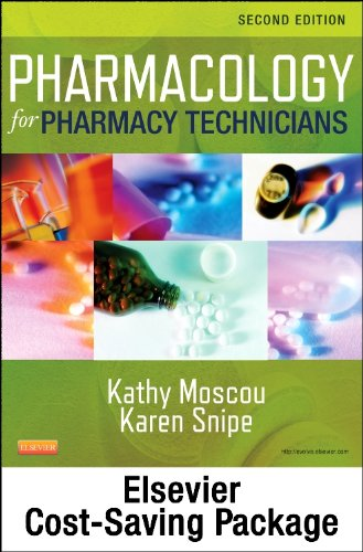 9780323172042: Pharmacology for Pharmacy Technicians - Text and Workbook Package, 2e