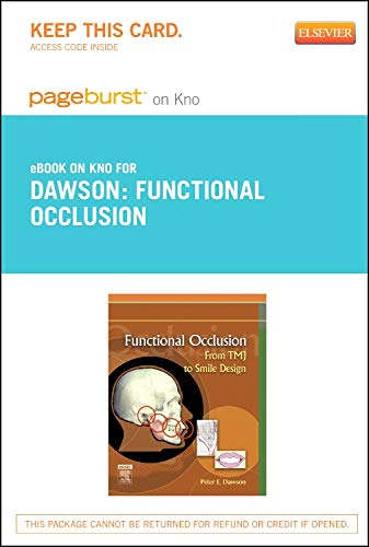 9780323183741: Functional Occlusion - Elsevier eBook on Intel Education Study (Retail Access Card): From TMJ to Smile Design