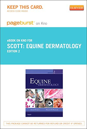 9780323185035: Equine Dermatology - Elsevier eBook on Intel Education Study (Retail Access Card), 2e