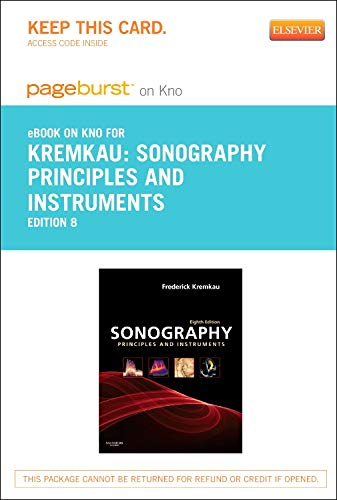 9780323185066: Sonography Principles and Instruments - Elsevier eBook on Intel Education Study (Retail Access Card), 8e
