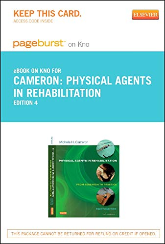 9780323185578: Physical Agents in Rehabilitation - Elsevier eBook on Intel Education Study (Retail Access Card): From Research to Practice, 4e (Pageburst (Access Codes))