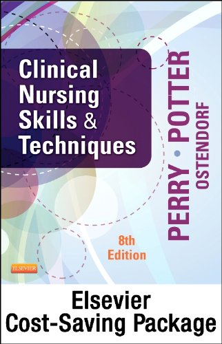 9780323185721: Clinical Nursing Skills and Techniques - Text and Mosby's Nursing Video Skills: Student Online Version 4e (Access Card) Package, 8e