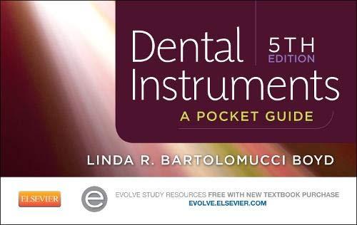 Dental Instruments: A Pocket Guide, 5e: Boyd CDA RDA