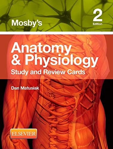 9780323187251: Mosby's Anatomy & Physiology Study and Review Cards, 2e