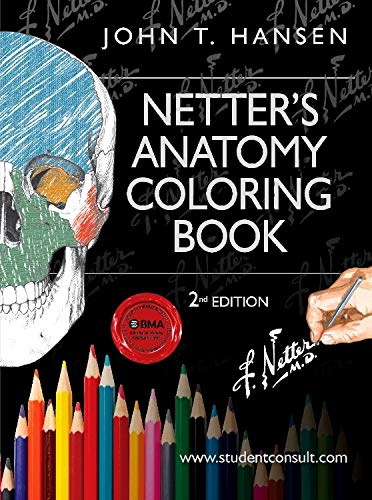 9780323187985: Netter's Anatomy Coloring Book, with Student Consult Access, 2nd Edition
