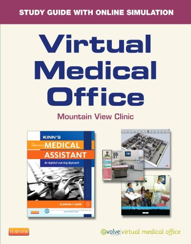 9780323221009: Virtual Medical Office for Kinn's The Administrative Medical Assistant (Access Code): An Applied Learning Approach, 8e