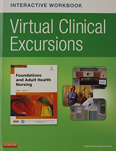9780323221757: Virtual Clinical Excursions Online and Print Workbook for Foundations and Adult Health Nursing, 7e