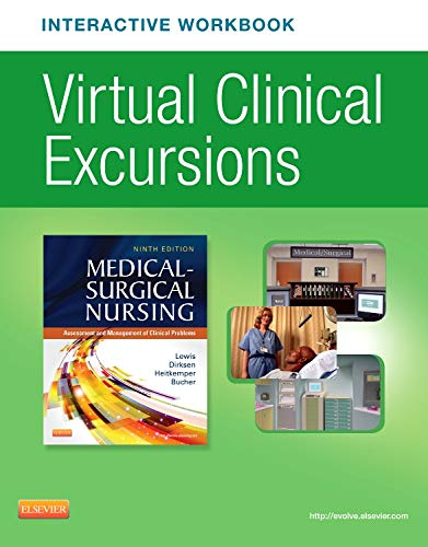 9780323221832: Virtual Clinical Excursions Online and Print Workbook for Medical-Surgical Nursing, 9e