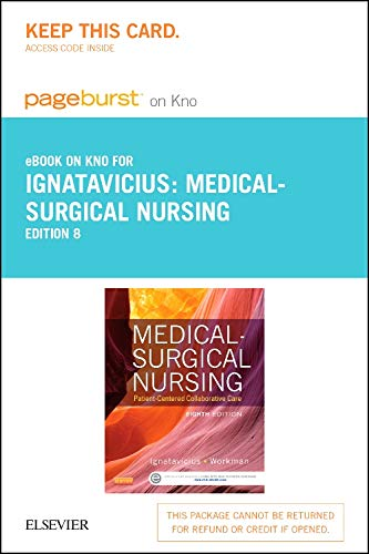 9780323222297: Medical-Surgical Nursing - Elsevier eBook on Intel Education Study (Retail Access Card): Patient-Centered Collaborative Care, 8e