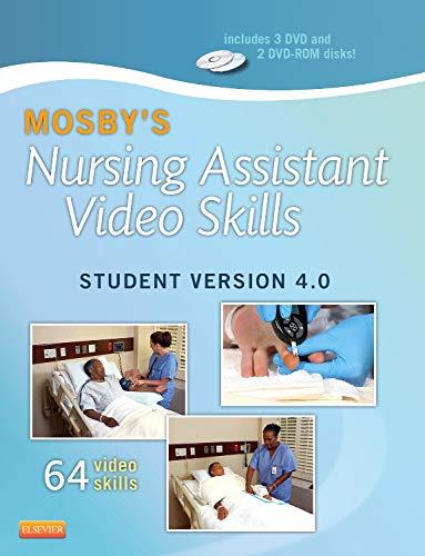 9780323222440: Mosby's Nursing Assistant Video Skills - Student Version DVD 4.0, 4e