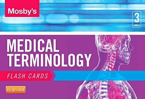 9780323222587: Mosby's Medical Terminology Flash Cards, 3e