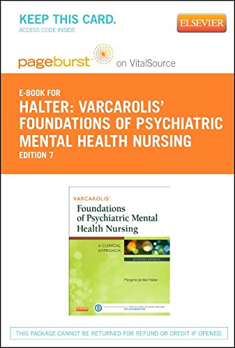 9780323222778: Varcarolis' Foundations of Psychiatric Mental Health Nursing - Elsevier eBook on VitalSource (Retail Access Card): A Clinical Approach, 7e