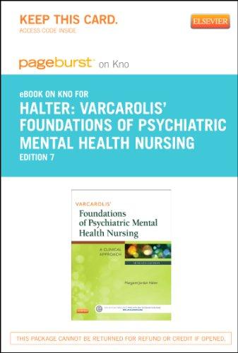 9780323222785: Varcarolis' Foundations of Psychiatric Mental Health Nursing - Elsevier eBook on Intel Education Study (Retail Access Card): A Clinical Approach, 7e