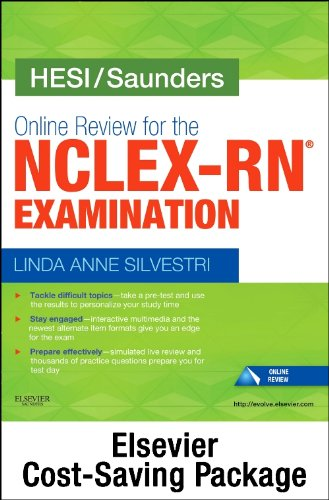 9780323224260: NCLEX Power Prep Package, 24 month Online Review Version - Saunders Online Review for the NCLEX-RN (2 year access) + Elsevier Adaptive Quizzing for the NCLEX-RN (36 month access) (Retail Access Cards)