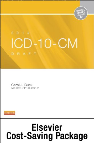 9780323224383: 2014 ICD-10-CM Draft Edition, 2014 HCPCS Standard Edition and CPT 2014 Standard Edition Package, 1e