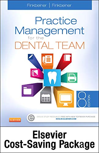 9780323225830: Practice Management for the Dental Team - Text and Workbook Package, 8e