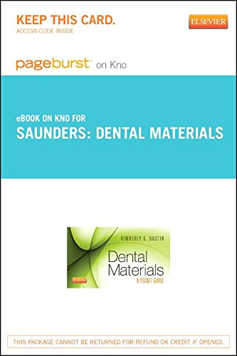 Dental Materials - Elsevier eBook on Intel: SAUNDERS; Kimberly G.