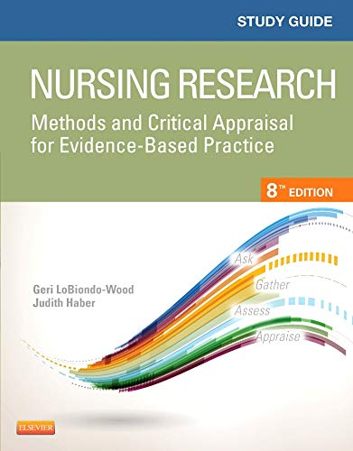 9780323226431: Study Guide for Nursing Research: Methods and Critical Appraisal for Evidence-Based Practice, 8e