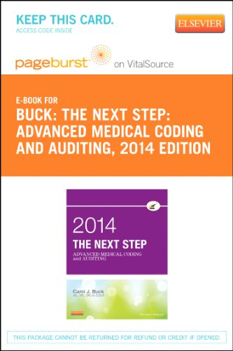 9780323227575: The Next Step: Advanced Medical Coding and Auditing, 2014 Edition - Elsevier eBook on Vital Source (Retail Access Card), 1e